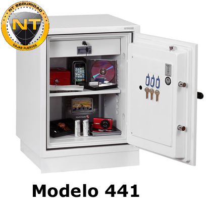 Caja Fuerte Phoenix Fire Fighter 441 abierta