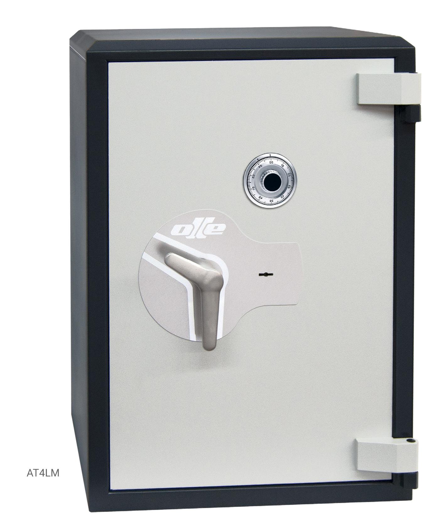 Ollé Serie I sobreponer cerradura mecánica y de llave ATL4M