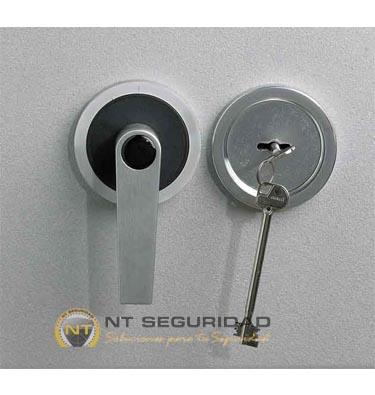 Cerradura de llave Caja Fuerte Ignífuga Zephir Duo 3