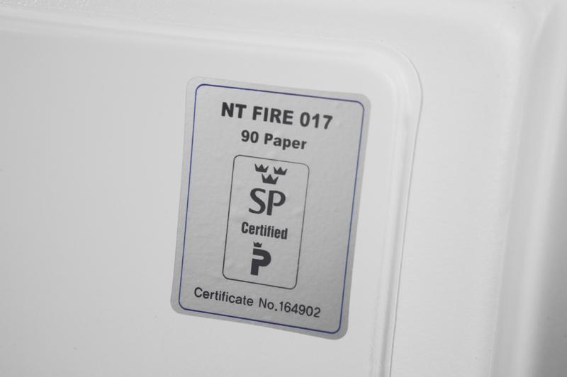 Caja Fuerte Phoenix Data Combi DS2501K certificado ignifugo | NTSeguridad