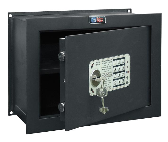 Caja Fuerte de Empotrar BTV Decora Empotrar WE-3618