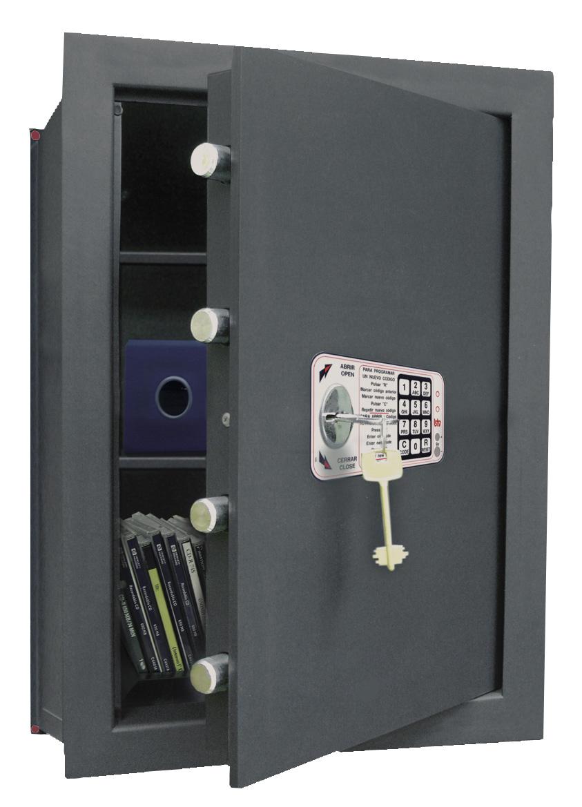 Caja Fuerte de Empotrar BTV Decora Empotrar WE-6130