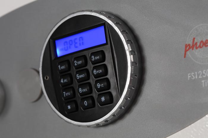 Caja Fuerte Phoenix Titan II FS1271E | NTSeguridad