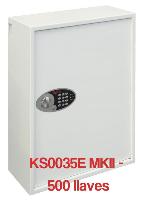 Caja para Llaves Phoenix Serie KS0035E MKII cerrada