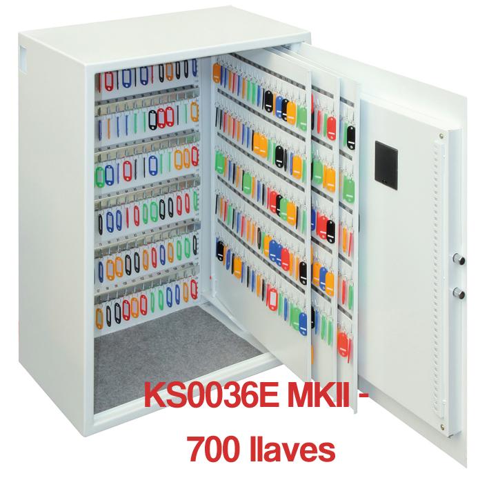 Caja para Llaves Phoenix Serie KS0036E MKII abierta