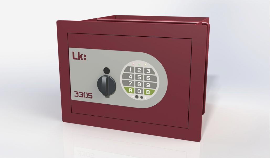 Caja Fuerte de Empotrar LK 3305 con pomo