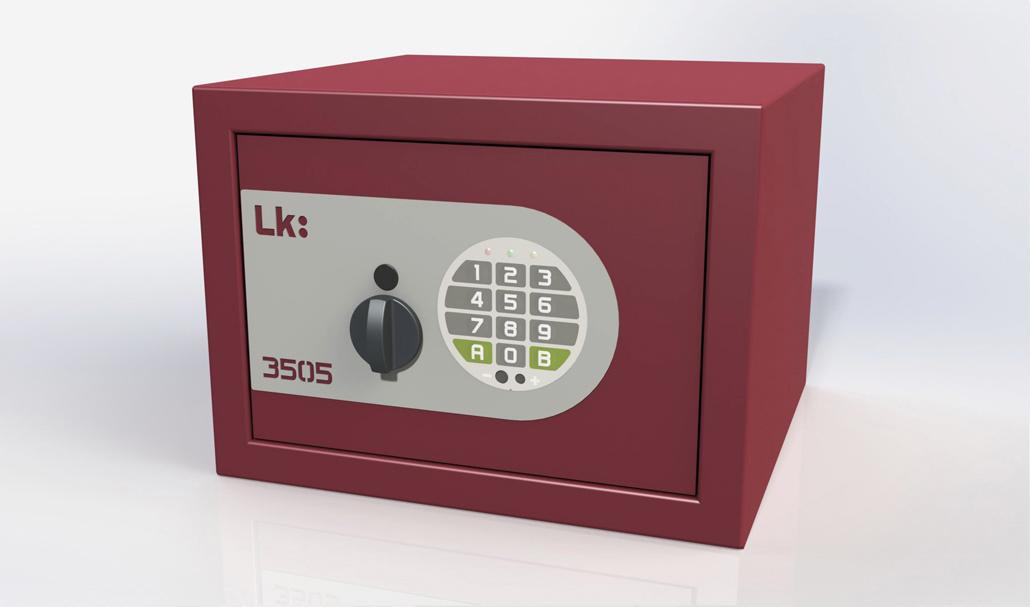 Caja Fuerte de Sobreponer LK 3505 pomo