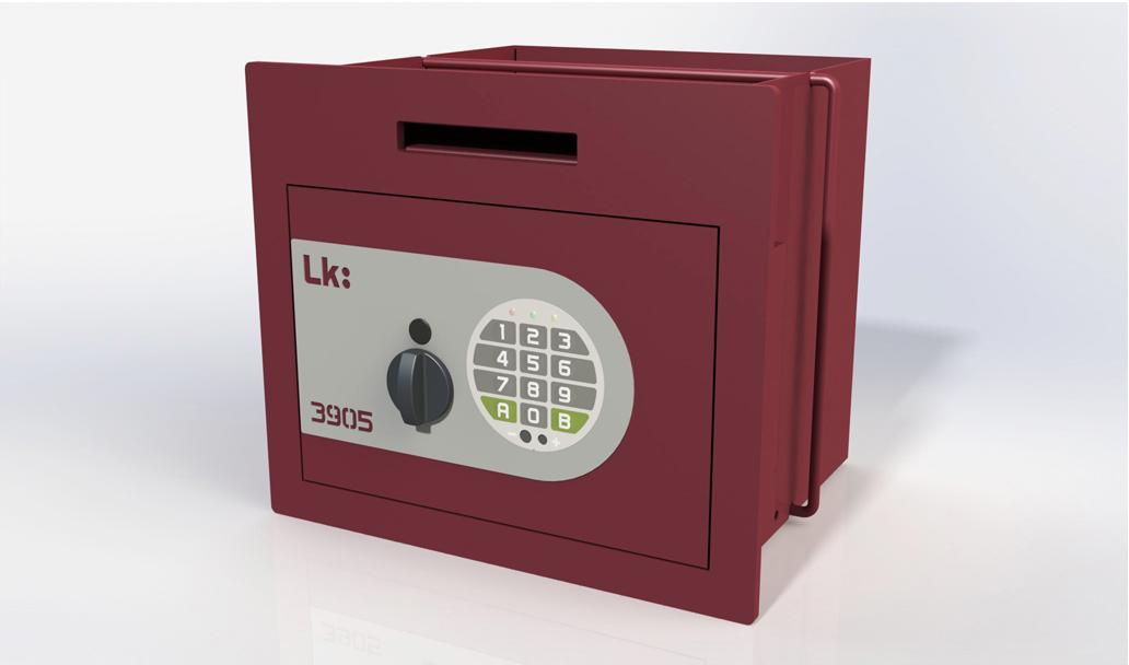 Caja Fuerte de Empotrar LK 3905 con pomo