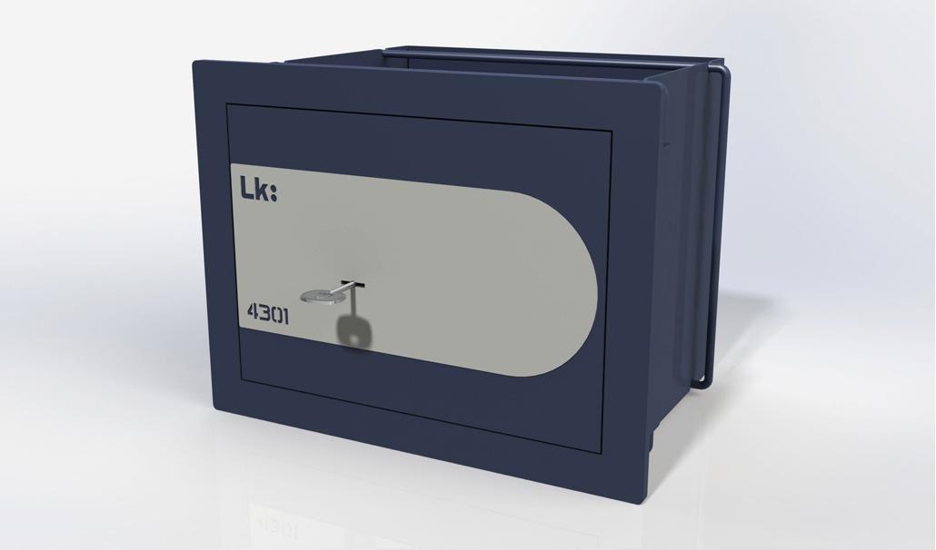 Caja Fuerte de Empotrar LK Gama Alta 4301