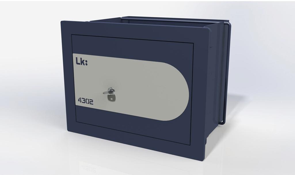 Caja Fuerte de Empotrar LK Gama Alta 4302