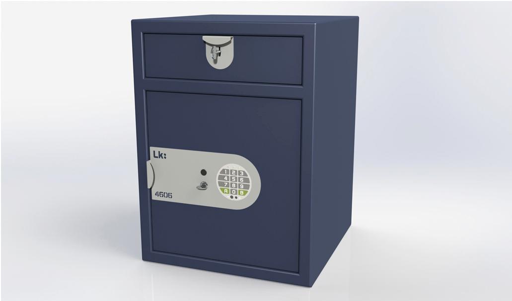 Submostrador LK 4606 cerradura de llave y electrónica