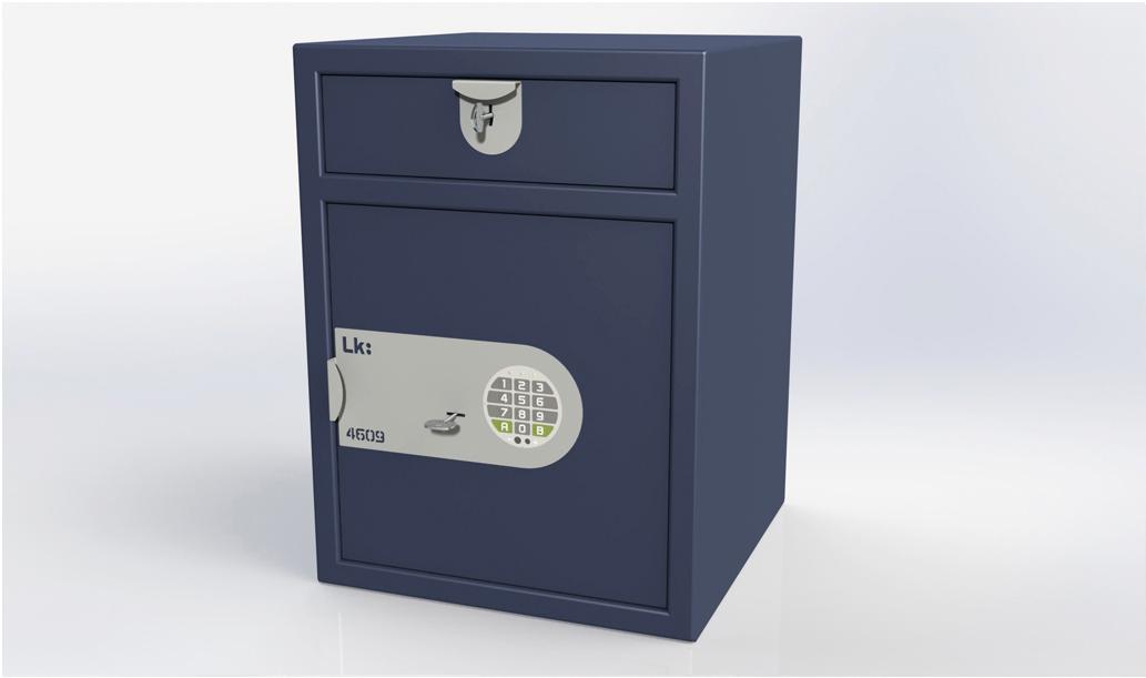 Submostrador LK 4609 cerradura de llave y electrónica