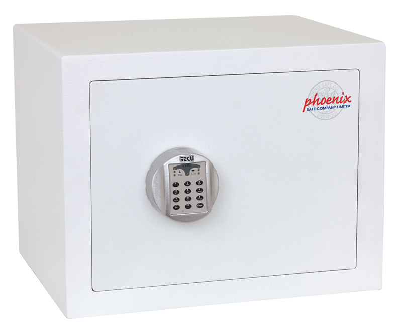 Caja Fuerte Phoenix Fortress SS1182E cerrada