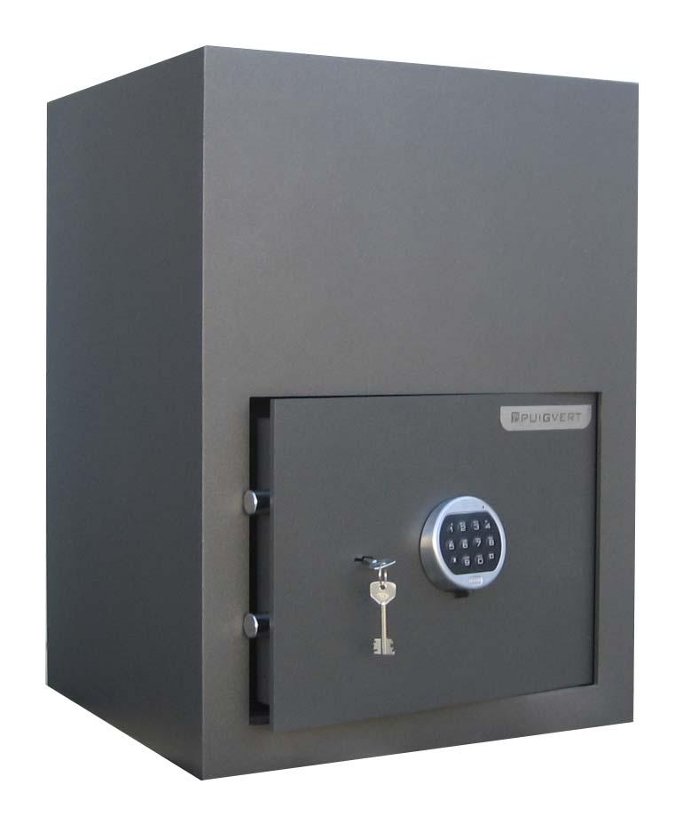 Caja Fuerte con tolva para deposito CAIXES PUIGVERT Tolva | NTSeguridad