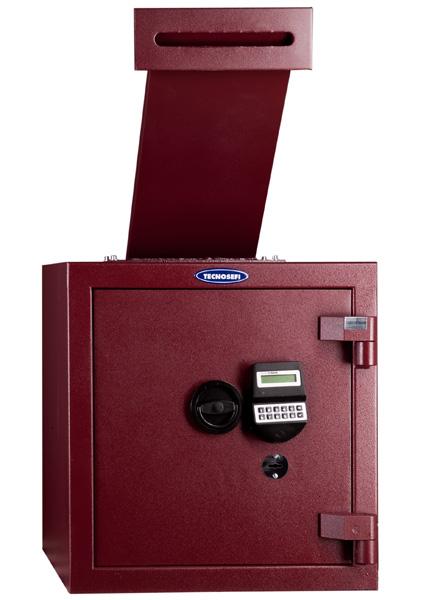 Tecnosefi Faber IV con cerradura de llave y electrónica y tolva | NTSeguridad