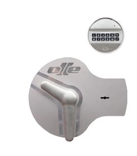 Cerradura electrónica y llave