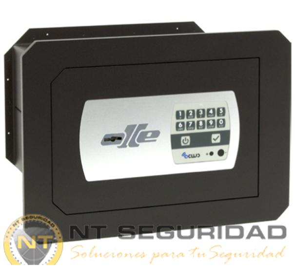 Caja de fuerte de empotrar Olle SERIE 1000 mural electrónica ocluc