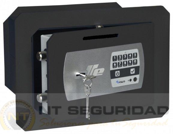 Caja de fuerte de empotrar Olle SERIE 1000 mural electrónica ocluc con ranura