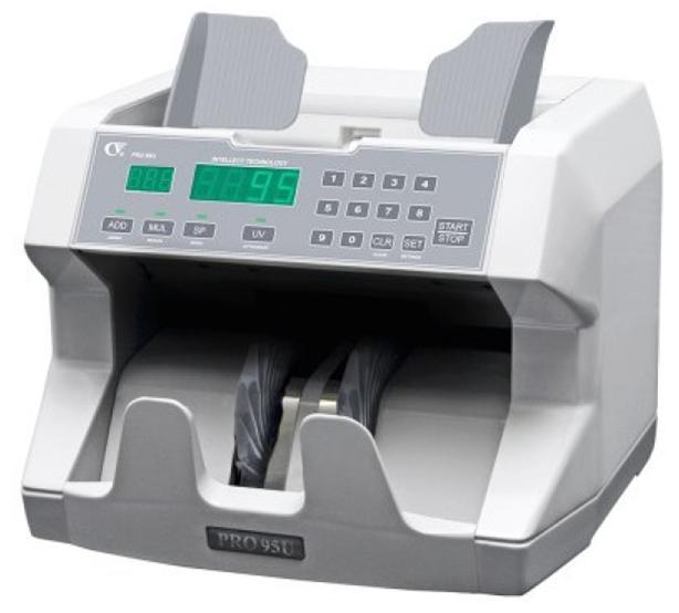 Contadora de billetes PROFINDUSTRY PRO-95 | NTSeguridad