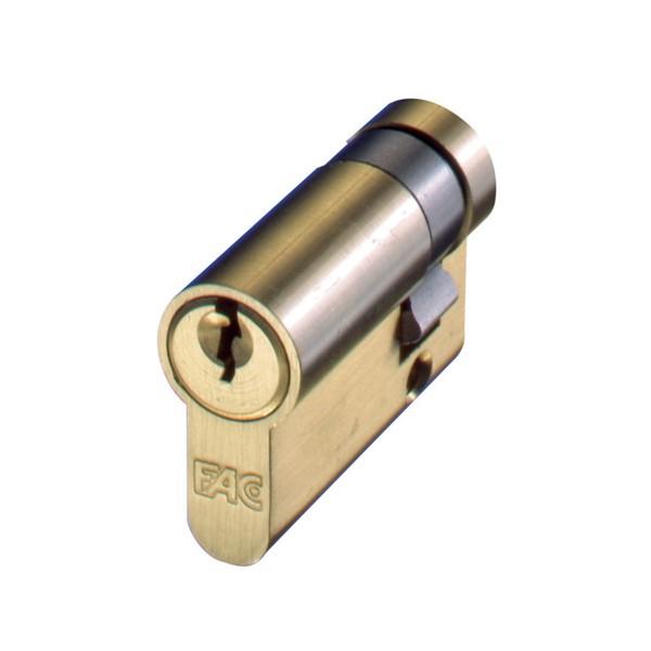 Cilindro de perfil europeo con llave dentada FAC 40F N�quel 30x10 (leva de 13,5 mm)